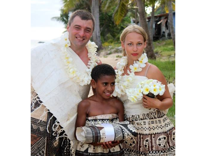 Fijian wedding